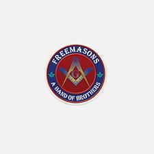 Freemasons. A Band of Brothers Mini Button