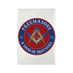 Freemasons. A Band of Brothers Rectangle Magnet (1