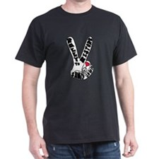 rally to restore Sanity Finge T-Shirt