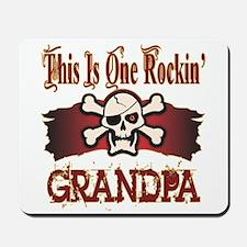 Rockin Grandpa Mousepad