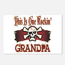 Rockin Grandpa Postcards (Package of 8)