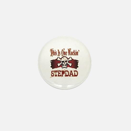 Rockin Stepdad Mini Button