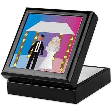 Jewish Wedding Huppa Keepsake Box