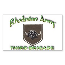 Rhodesian Army 3rd Brigade Decal
