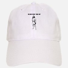 My God Never Taps Out Baseball Baseball Cap