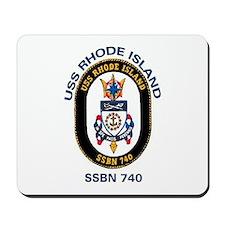 USS Rhode Island SSBN 740 Mousepad