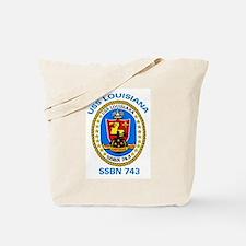 USS Louisiana SSBN 743 Tote Bag