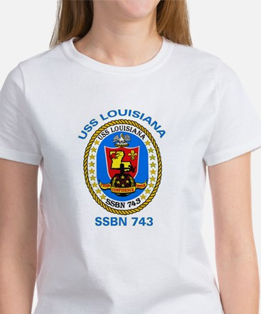 USS Louisiana SSBN 743 Women's T-Shirt