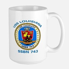 USS Louisiana SSBN 743 Mug