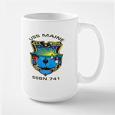 USS Maine SSBN 741 Large Mug