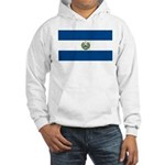 El Salvador Flag Hooded Sweatshirt