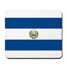 El Salvador Flag Mousepad