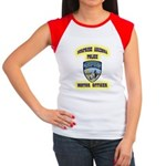 Surprise Police Motors Women's Cap Sleeve T-Shirt
