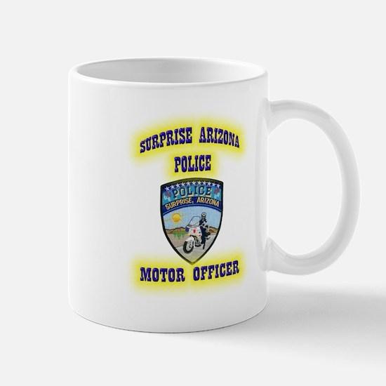 Surprise Police Motors Mug