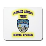 Surprise Police Motors Mousepad