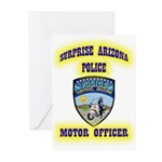 Surprise Police Motors Greeting Cards (Pk of 20)