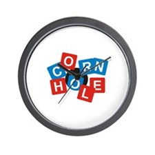 Cornhole Cafe Wall Clock
