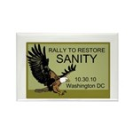 Rally Eagle Rectangle Magnet (100 pack)