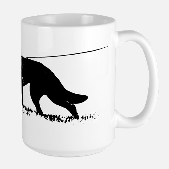 shepherd tracker Large Mug