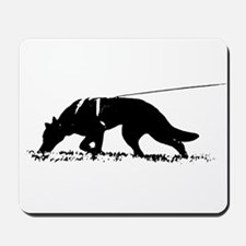 shepherd tracker Mousepad
