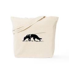 shepherd tracker Tote Bag