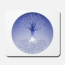 Winter Solstice Blue Mousepad