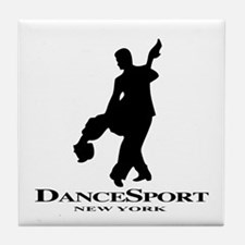 Couple Silhoutte DS NY Tile Coaster