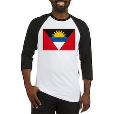 Antigua and Barbuda Flag Baseball Jersey