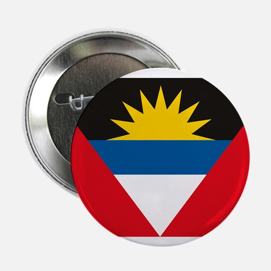 "Antigua and Barbuda Flag 2.25"" Button (10 pack)"