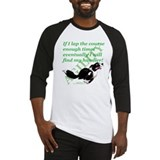 Border collie agility Baseball Tee