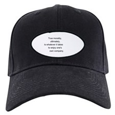 """True Morality"" Baseball Hat"