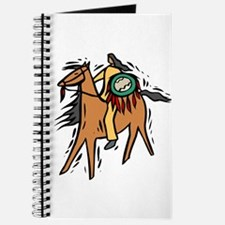 Native American Horse Rider Journal