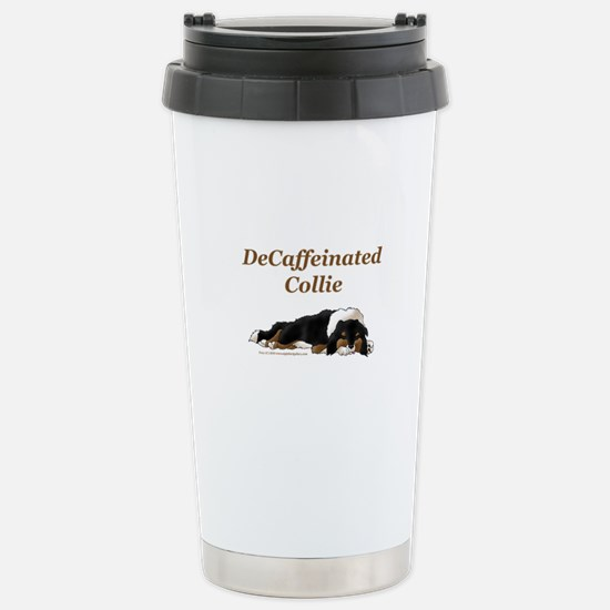 DeCaffeinated Collie-Single Stainless Steel Travel