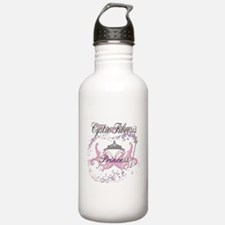 Cystic Fibrosis Warrior Princ Water Bottle