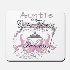 Auntie to a Cystic Fibrosis Warrior in Pink Mousep