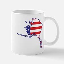 AK USA Flag Map 1 Mug