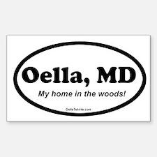 Unique Oella Sticker (Rectangle)