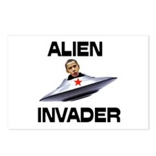 ALIENS ATTACKING US Postcards (Package of 8)