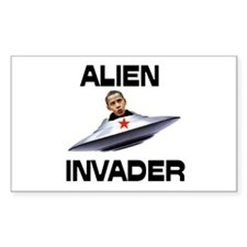 ALIENS ATTACKING US Decal