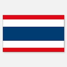 Thailand Flag Rectangle Decal