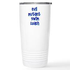 Evil Mutant Swim Coach Travel Mug