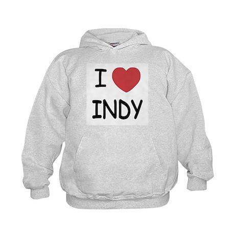 I heart Indy Kids Hoodie