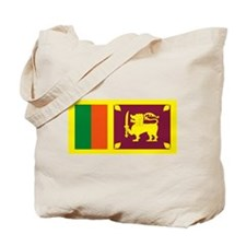 Sri Lanka Flag Tote Bag
