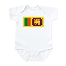 Sri Lanka Flag Infant Creeper