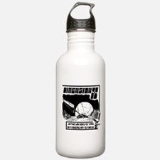 Funny Old time radio Water Bottle