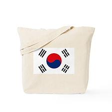 South Korea Flag Tote Bag