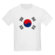 South Korea Flag Kids T-Shirt