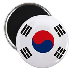 "South Korea Flag 2.25"" Magnet (10 pack)"