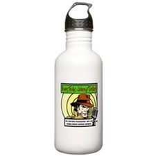 Cute Old time radio Water Bottle