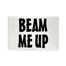 Beam Me Up Rectangle Magnet (10 pack)